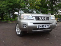 55 NISSAN X-TRAIL TDCI 2.2 DIESEL 4X4,MOT MARCH 018,2 KEYS,2 OWNERS,PART HISTORY,LOVELY EXAMPLE