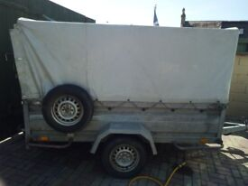 Covered trailer for sale