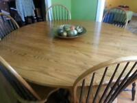 DIning Room table - solid oak