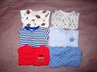 Baby Boys Bundle Newborn sleepsuits and vests