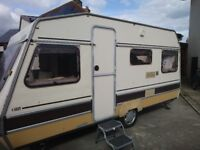 1986 marauder 4/50, 4 birth caravan for sale.