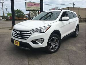 2013 Hyundai Santa Fe XL 7 PASS SHARP WHITE ALLOYS