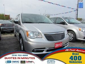 2012 Chrysler Town & Country Limited   NAV   LEATHER   DVD   CAM