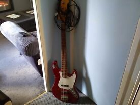 Bass guitar with new lead