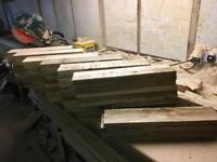 Wood pales / slats ..