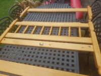 Pine Wood Bed Frame for sale!
