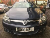 VAUXHALL ASTRA 2.0 i 16v Design Twin Top 2dr (blue) 2006