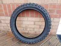 Motorcycle Motor bike Front Metzeler Tyre 110/80-19