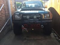 Toyota Hilux LN 167 1998 double cab 4 x 4 - 3.0 Ltr non turbo