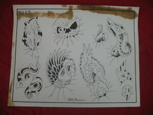 1986 spaulding rogers flash art miscellaneous art page for Spaulding rogers tattoo