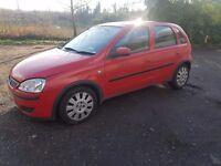 Late 2003 Vauxhall Corsa 1.0 Twinport