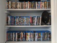 155 Blu-ray movies job lot - Clifton Bristol
