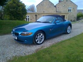 BMW Z4 49500 miles tested Feb2019 new runflat tyres BMW Durham service history