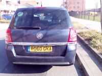 2010 Vuaxhal Zafira for Sale can be used in UBER