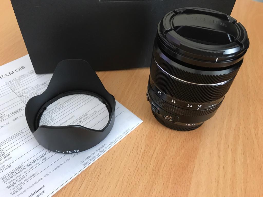 Fujinon Xf18 55mm F28 4 R Lm Ois Lens In Norwich Norfolk Gumtree