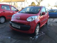 Citroen C1 Red 1 Litre Petrol Manual 3 Door Hatchback 2008 Stunning Low Mileage Car