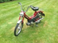 Punch Maxi S 49CC Moped, 1977. MOT. Running. 2 New Tyres.