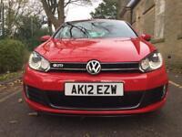2012 VW GOLF GTD MK6 2.0TDi (fvwsh- low miles- heated leathers-xenons headlights ) Not GTI AMG FR X5