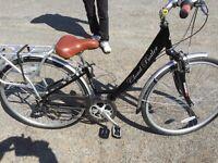ladies Claude butler city bike