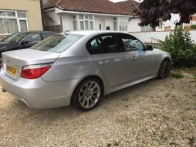 BMW 5 Series 3.0TD 525d M Sport Saloon 4d 2993cc auto, few gadgets and extras, full leather interior