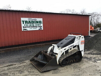 2014 Bobcat Mt55 Stand On Track Skid Steer Loader Only 600 Hours