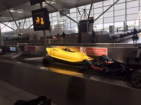Liquid Logic Vision 56 Kayak / Playboat / play boat / whitewater - YELLOW