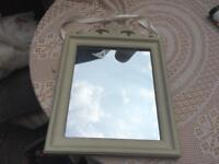 Hanger small mirror with frame size 43X31cm v,good condition £5