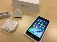 Boxed Space Grey Apple iPhone 6S 16GB Factory Unlocked Mobile Phone + Warranty