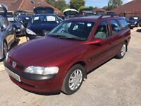 1997/R VAUXHALL VECTRA 2.0 16V LS 5 DR ESTATE IN GOOD CONDITION,SERVICE HISTORY,LOOKS& DRIVES WELL