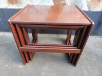 Vintage Retro G Plan 3 Nest of Tables