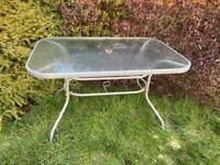 Garden table free to who ever collects first