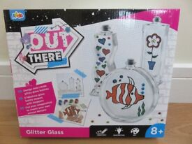 BNIB Glitter Glass Arts and Crafts Kit