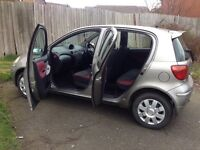**TOYOTA YARIS** 1.3L ** 79K **COLOUR COLLECTION** 5 DOORS** SERVICE HISTORY