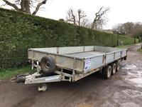 Ifor Williams 18x7'4 tri axle trailer