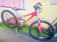 """MOUNTAIN BIKE 24"""" NEW PARTS FULLY RESTORED"""