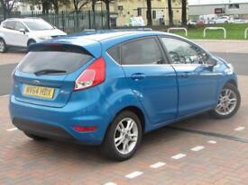 Ford Fiesta ZETEC (blue) 2014-11-30