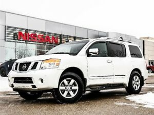 2015 Nissan Armada Platinum Edition Fully Loaded,DVD,Seating For