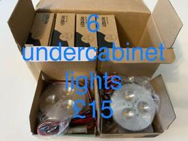 Under cabinet lights x 6