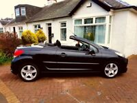 Convertible - peugot 207 cc sport. Full year MOT. Alloys. Excellent condition. Priced to sell.