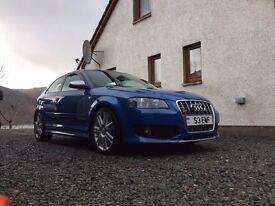 Audi S3 TSFI Quattro 300+ BHP