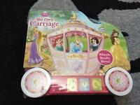Brand new Disney princess carriage book