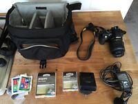 Nikon D3100 Digital SLR Camera-Black with18-55mm Lens BARGAIN
