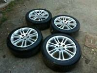"18"" Vauxhall insignia alloys and tyres"