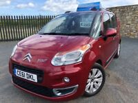 2011 61 CITROEN C3 PICASSO EXCLUSIVE HDI 1.6 *DIESEL* - ONLY 1 FORMER KEEPER - FULL SERVICE HISTORY!