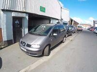 SEAT ALHAMBRA ( VW SHARAN FORD GALAXY) 1.9 TDI 7 seater