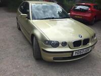 BMW 320 td compact swap