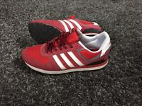 Men's Red Addidas Trainers