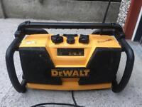 Dewalt dw911 radio