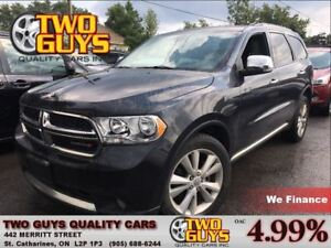 2012 Dodge Durango CREW PLUS | SUNROOF | NAV | LEATHER | AWD V6