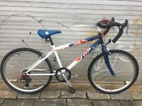 Team GB 24inch wheel kids racing style bicycle